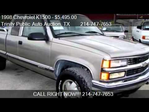 1998 Chevrolet K1500 Z71 Off Road Pkg For Sale In Dallas Youtube