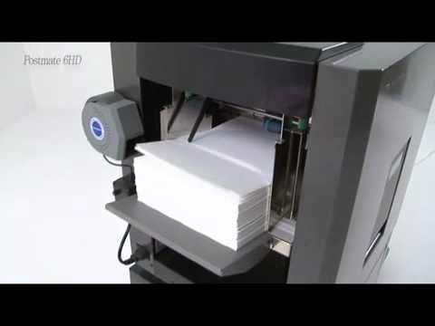 เครื่องพับปิดผนึกอัตโนมัติ Welltec system รุ่น Postmate_6HD