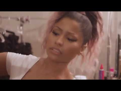 "Behind The Scenes : Nicki Minaj "" Marie Claire"""