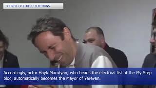 Results of Yerevan municipal polls