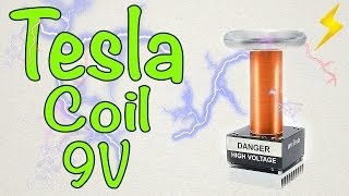 Download Video How to make a mini Tesla coil 9V MP3 3GP MP4