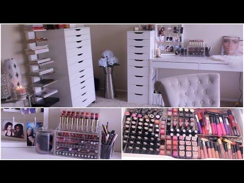 Makeup Collection & Storage  2015   Jackie Aina