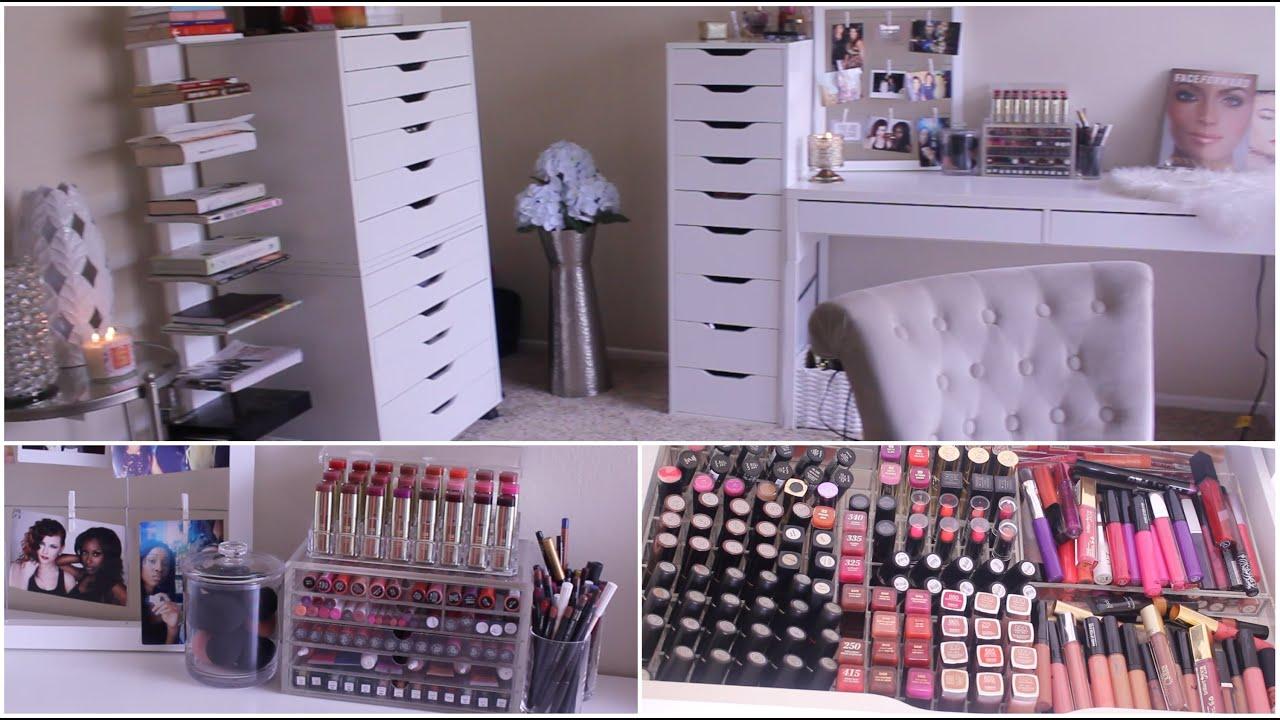 Makeup Collection  Storage 2015  Jackie Aina  YouTube
