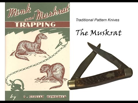 The Muskrat:  A Traditional Pattern Folder
