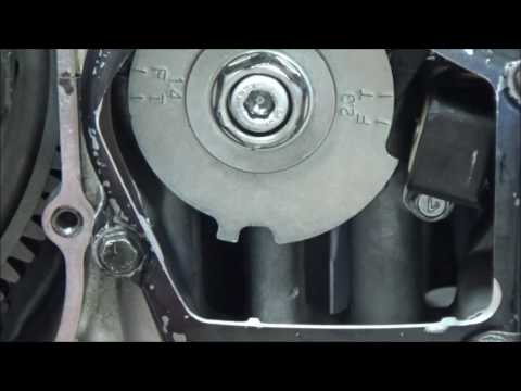 How to time your camshafts correctly. The most common human error made shown on close up video!