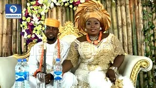 Beautiful Blend Of Cultures As Ugochukwu Weds Omonigho In Delta