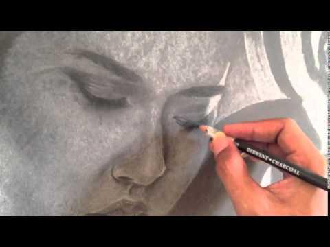 Raisa Teka-Teki Chalk Drawing by @nooraditama @raisa6690