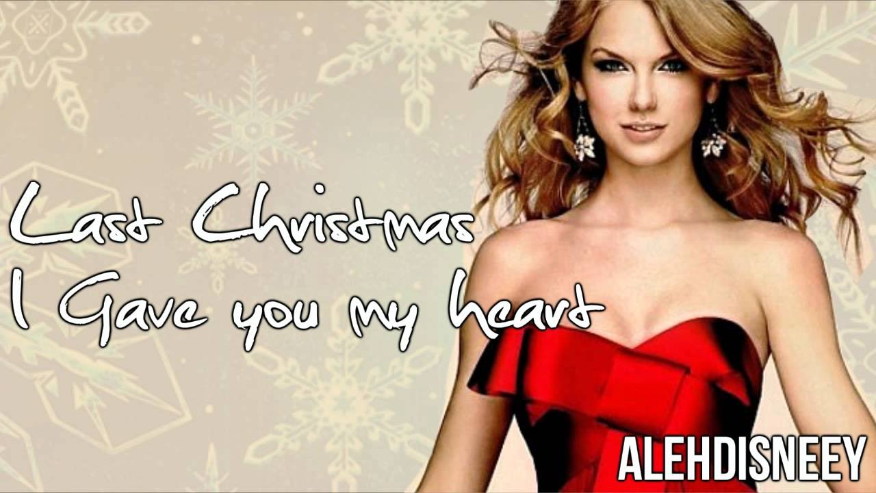 taylor swift last christmas youtube - Last Christmas By Taylor Swift