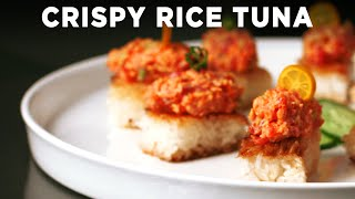 CRISPY RICE TUNA