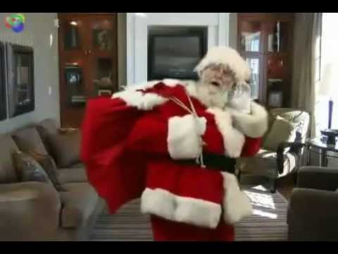 Caught Santa On Video In My Living Room Sample 1 - YouTube