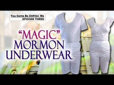 Magic Mormon Underwear Youtube