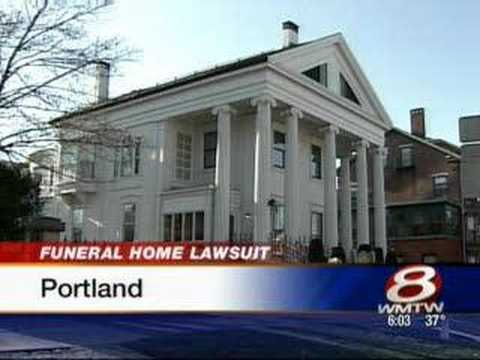 Funeral Home Sued Over Leaking Casket