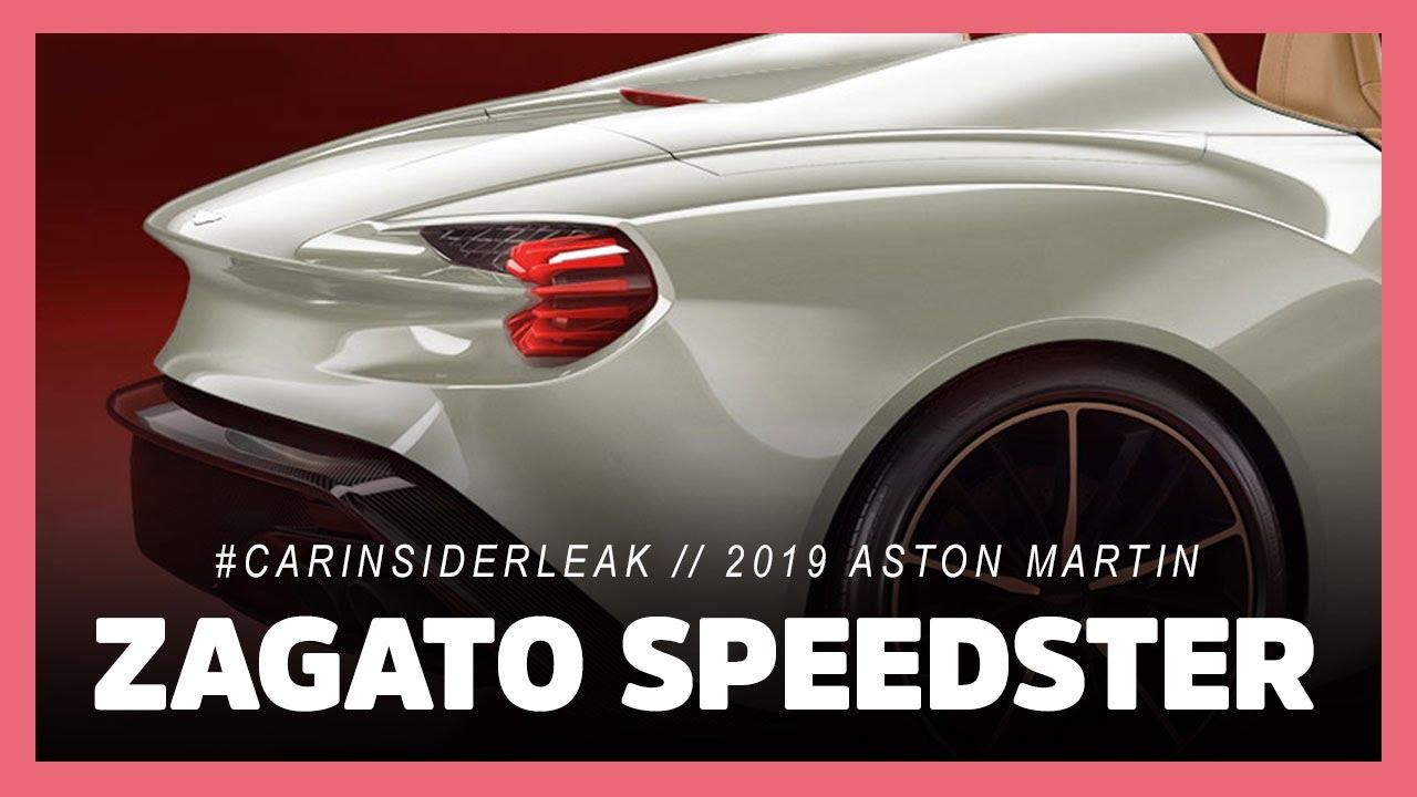 Exclusive 2019 Aston Martin Vanquish Zagato Speedster