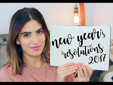 NEW YEAR'S RESOLUTIONS 2017 | Lily Pebbles