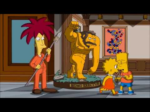 The Simpsons: Sideshow Bob's genetic modification  [Clip]