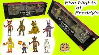 Five Nights A Freddy s Set 2 Two Funko Vinyl Freddy, Bonnie, Spring trap, Balloon Boy Game Box Set