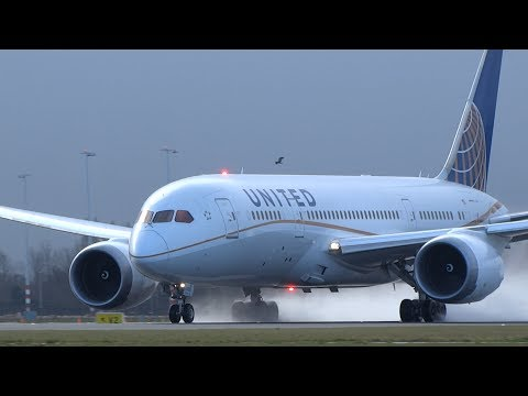 B787 Dreamliner Users At Schiphol Airport (All 9 Airlines)