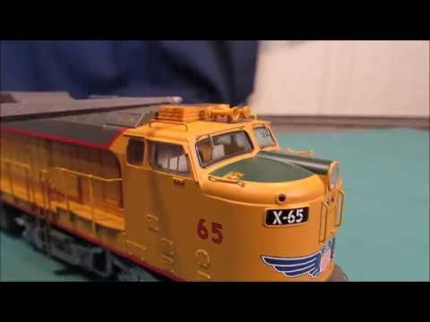 HO SCALE Athearn Veranda gas turbine Unboxing and Review