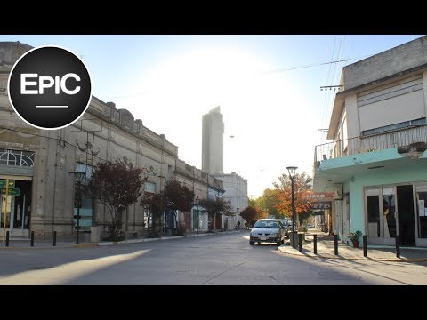 Quick City Overview: Adolfo Gonzales Chaves, Argentina (HD)