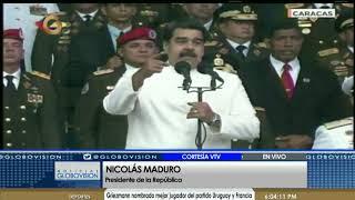 Declaraciones del Presidente Nicolás Maduro en la Academia Militar de Venezuela (07/07/18)