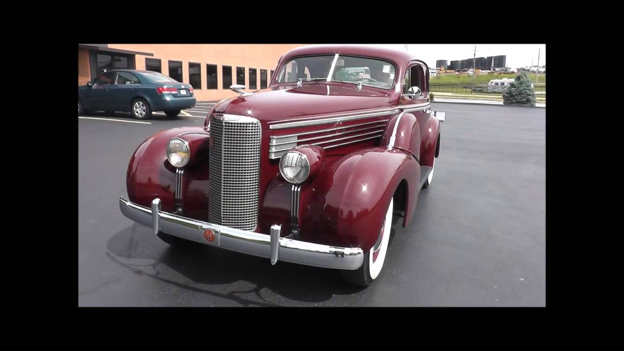 1938 Cadillac LaSalle Series 50 Opera Seat Coupe  YouTube