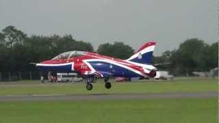 Royal Air Force Hawk T1 Solo Display @ RIAT 08-07-2012