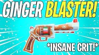 BEST GINGER BLASTER BUILD! Ginger Blaster All Legendary Perks Review | Fortnite Save The World