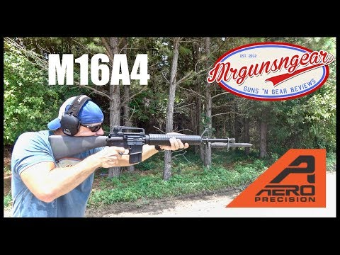 Aero Precision M16A4 20'' AR-15 Rifle Review