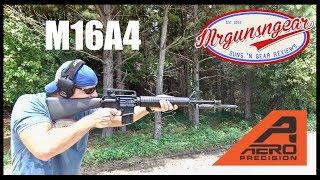Aero Precision M16A4 20'' AR-15 Rifle Review