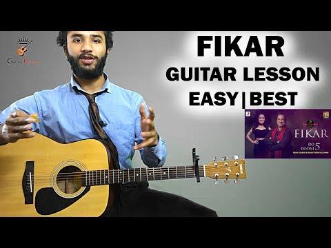 Fikar guitar lesson - Do Dooni 5 (rahat fateh ali khan,Neha kakkar) | EASY