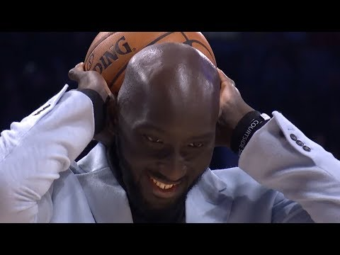 Aaron Gordon Dunks Over Tacko Fall - 2020 NBA Slam Dunk Contest