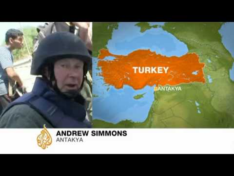 Andrew Simmons shares details of Syria visit