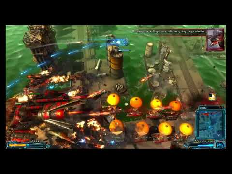 X-Morph: Defense - Russia, Boss Wave 6-7 (Redwing KM-2)