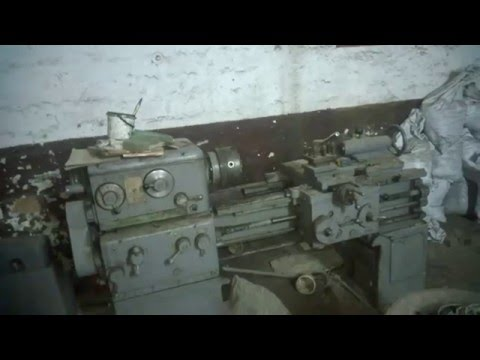токарний станок 1м61 запуск ч.1