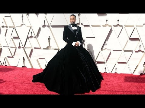 Black Man Wears Cinderella Gown At Oscars