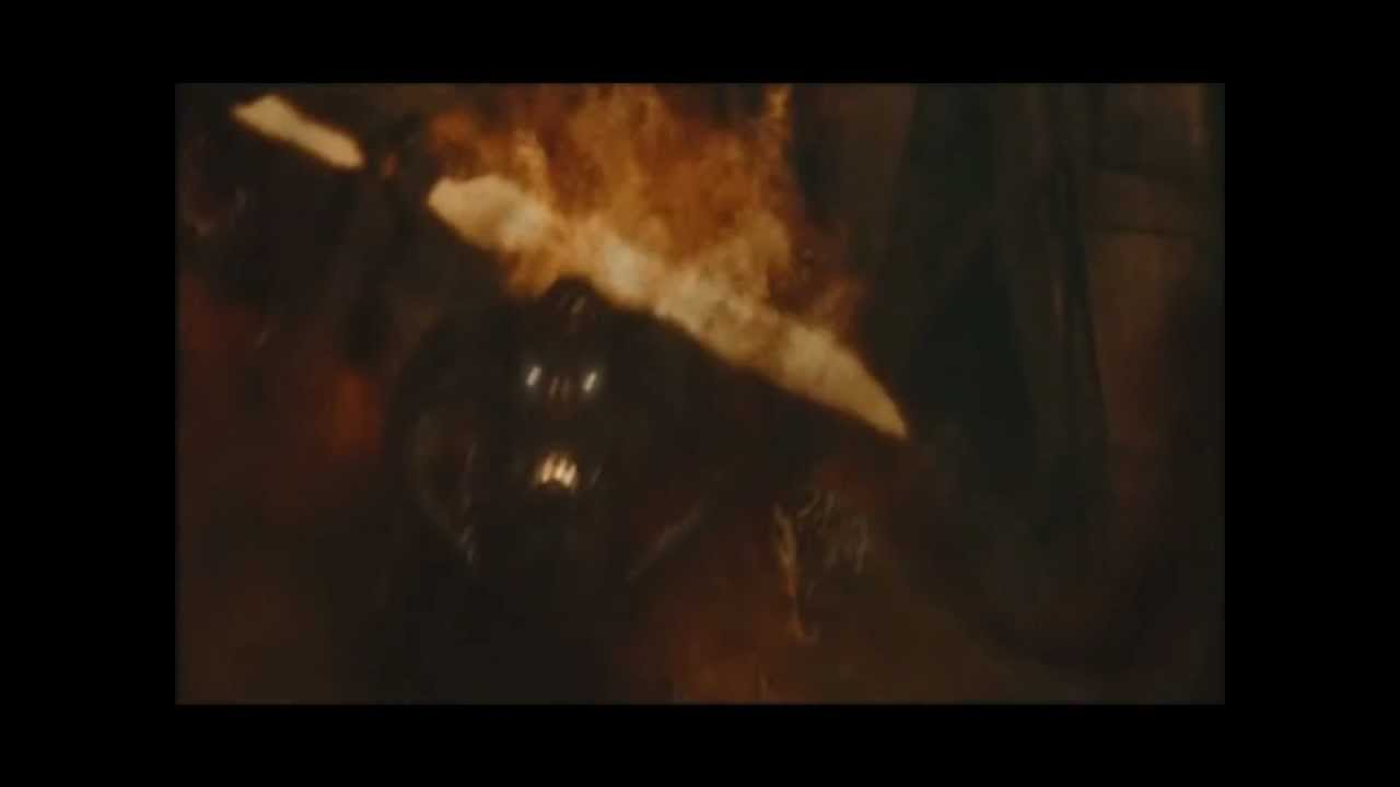 Gandalf VS Balrog FULL...