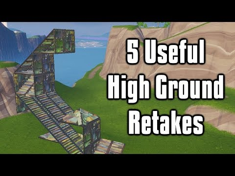 Five Useful High Ground Retakes - Fortnite Battle Royale