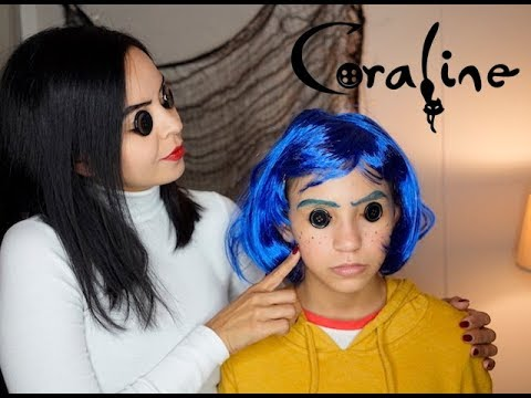 Coraline Other Mother Halloween Makeup Looks Coraline Othermother Youtube