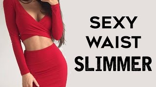 Fiery HIIT Smaller Waist Workout For Women  | 4 Tiny Waist and Belly Fat Burning Workouts!