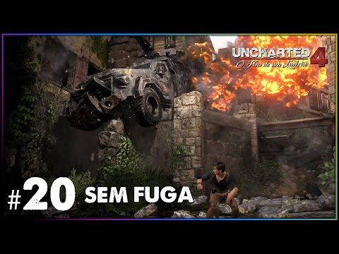 Sem Fuga  UNCHARTED 4 Gameplay  Cap 20  Sem Fuga em PORTUGUÊS