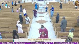 Second Sunday of Lent // 12 PM Mass 02.28.21