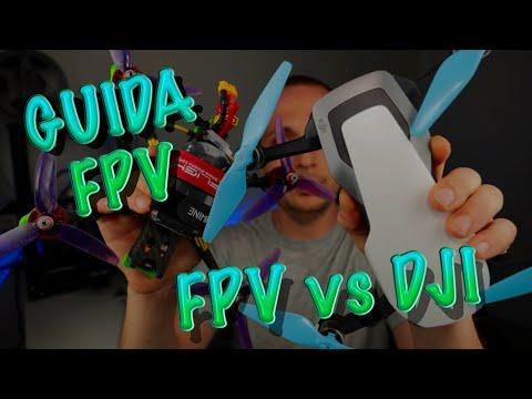 Фото GUIDA FPV | Scelta PRIMO DRONE | FPV vs DJI