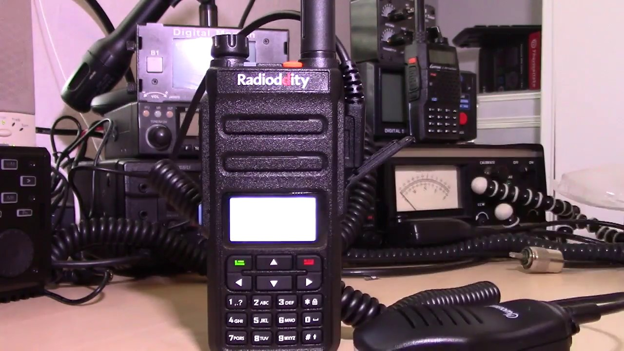 Radioddity GD-77 | Dual Band | 2 Time-slot DMR | 2200mAh | 5W | with Cable