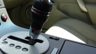 Infiniti G35/Nissan 350z: How to shift the Automatic (Without the BANG)