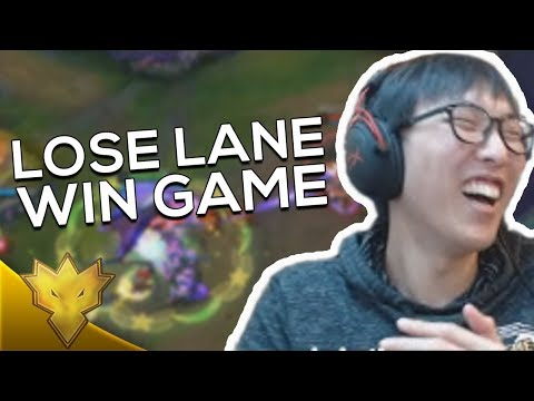 TL Doublelift & Olleh - LOSE LANE WIN GAME! - Korean Solo Queue Stream Highlights