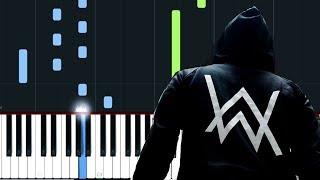 Alan Walker - Diamond Heart Piano Tutorial