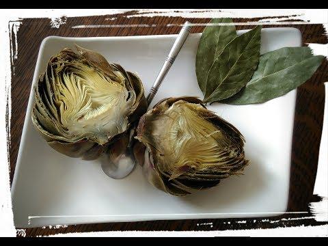 cuisson-des-artichaud-du-jardin-avec-mon-cookéo-ʘ‿ʘ-moulinex