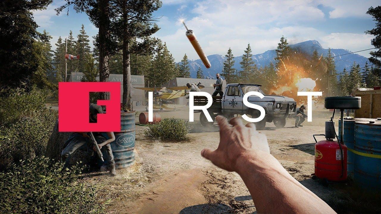 Far Cry 5: Clutch Nixon Stunt Mission Gameplay – IGN First