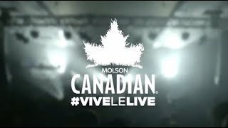 #vivelelive Toronto | Death From Above 1979 & The New Pornographers | Molson Canadian