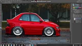 MINI CAR TUTORIAL PHOTOSHOP CS6 !?!